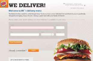 Get A Burger King Meal Delivered To Your Door