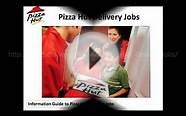 Pizza Hut Delivery Jobs